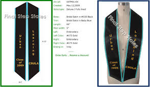 custom graduation sashes exles of deluxe graduation sash types graduation sash custom