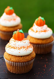 cinnamon pumpkin cupcake best cheap easy thanksgiving