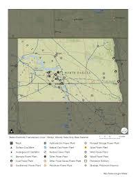 Nd Map North Dakota Profile