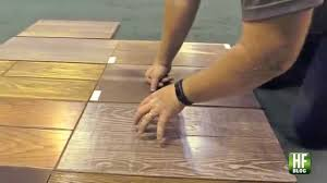 Vinegar And Laminate Floors Using A Vinegar Steel Wool Solution To Color A Wood Floor Youtube