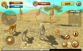 wild cheetah sim 3d android apps on google play