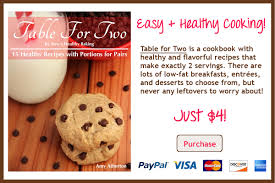 Table For Two by Table For Two Cookbook Amy U0027s Healthy Baking