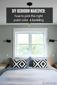 Diy Bedroom Makeovers - diy bedroom makeover picking paint and bedding the sweetest digs