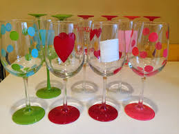not your ordinary psychic how to paint wine glasses