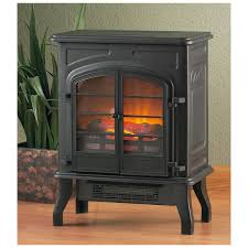 Electric Fireplace Stove Eye Catching Castlecreek Electric Stove Heater 227152 Fireplaces