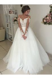 illusion neckline wedding dress sleeves lace illusion neckline wedding dresses bridal gowns 3030300