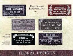 grave marker designs cemeterysales offers heastone and marker from cemeterysales