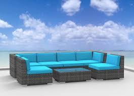 amazon com urban furnishing net oahu 7pc modern outdoor