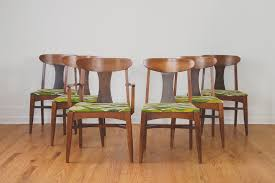 Midcentury Dining Chair Hs Collection Mcm Dining Chairs Homestead Seattle