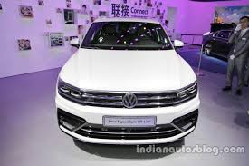 volkswagen tiguan 2016 r line 2016 vw tiguan sport r line at auto china 2016 front indian