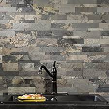 Stick On Kitchen Backsplash Tiles Aspect Peel And Stick Overlay Kitchen Backsplash