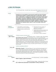 teaching resume exles objective customer service elementary teacher resume cliffordsphotography com