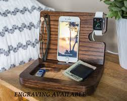Diy Nightstand Charging Station Docking Stations Etsy