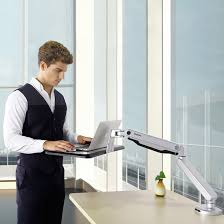 Sit Stand Office Desk by Sit Stand Laptop Mounts Flexispot