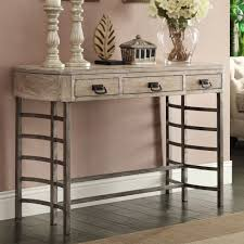 Hallway Accent Table Transitional Style Glenmont Ash Finish Entry Hallway Accent