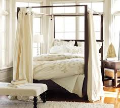bedroom stunning bedroom decoration with black wood four poster