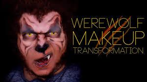 Werewolf Halloween Makeup by Werewolf Makeup Transformation Tranformacion Hombre Lobo Youtube