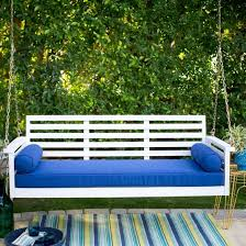 our new sprawling front porch swing reader poll on what color to