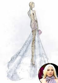 angel sanchez from designer wedding dress sketches for sofia