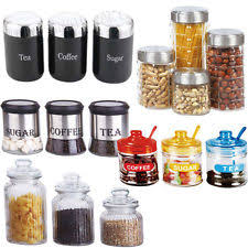 kitchen canister sets stainless steel unbranded stainless steel kitchen canister sets ebay