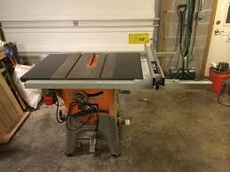 Ridgid Table Saw Extension Just Installed A T2 Fence On My Ridgid 4512 Here Are Some Of My