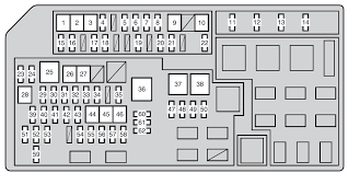 toyota land cruiser prado from 2011 u2013 fuse box diagram auto