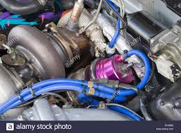nissan turbocharger heavily modified turbocharger system on nissan rb26 engine with