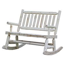 Rocking Patio Chair Amazon Com Wooden Rocking Chair With Natural Material
