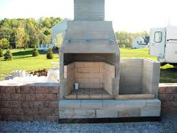 Build An Outdoor Fireplace by Diy Outdoor Fireplace Firebox U2014 Jen U0026 Joes Design Best Diy