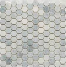 Hexagon Tile Bathroom Floor by Ms International Greecian White Hexagon 12 In X 12 In X 10 Mm