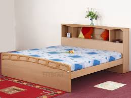Size Double Bed Buy Queen Size Double Bed With Mattress Online In India