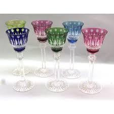 louis bicchieri louis 6 bicchieri da liquore nuovi