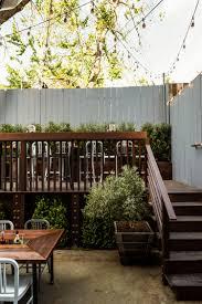 Stringing Lights In Backyard by Restaurant Visit Outdoor Dining At Sf U0027s Souvla Nopa Starry