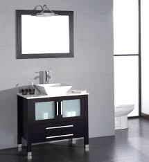 vessel sinks for sale cambridge 36 inch single vessel sink vanity complete set modern