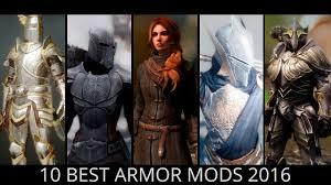 Skyrim Light Armor Mods Skyrim Top 10 Best Armor Mods 2016 Youtube