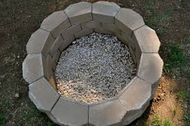 how to build a back yard diy fire pit it u0027s easy the garden glove