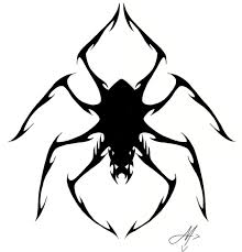 spider tattoo by valadaz on deviantart