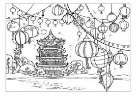 chinese coloring pages website inspiration free printable