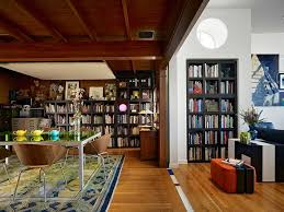 Lighting For Bookshelves by 25 Dining Rooms And Library Combinations Ideas Inspirations