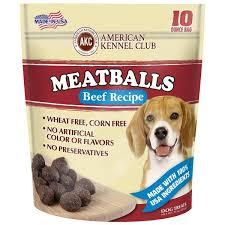 recipe for dog treats meatballs beef recipe dog treats akc shop