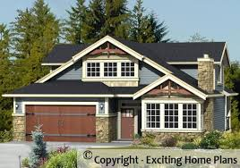 2 Stories House Modern House Garage U0026 Dream Cottage Blueprints By Exciting Home Plans