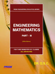 engineering mathematics for third semester b e classes part iii