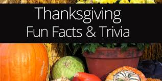 thanksgiving facts trivia ohladee