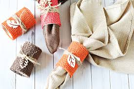 easy diy thanksgiving napkin rings tutorial