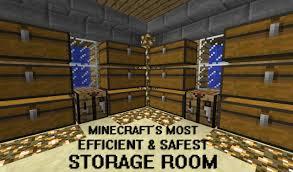 how to make an efficient storage room minecraft blog