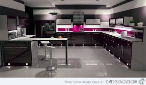 how to clean black gloss cupboards lines clean black tone kitchen ultra modern kitchen modern