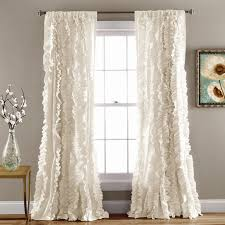 Ruffled Kitchen Curtains by Best 25 Farmhouse Curtains Ideas On Pinterest Bedroom Curtains