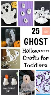 25 ghost halloween crafts for toddlers the unprepared mommy