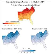 Southeast Map Of The United States by Southeast National Climate Assessment