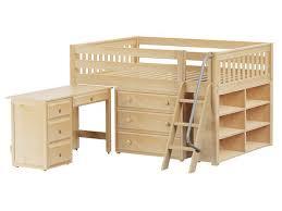 elegant low loft bed full integrity bedroom large 3 full size low